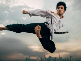 Be it increased flexibility, improved muscle tone, or becoming faster, Taekwondo is one of the most well rounded ways to become fitter. (Source: Red Bull)