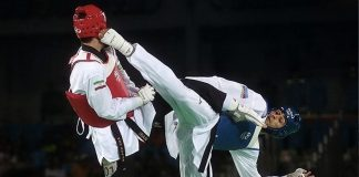 Taekwondo (Source- Wikimedia Commons)