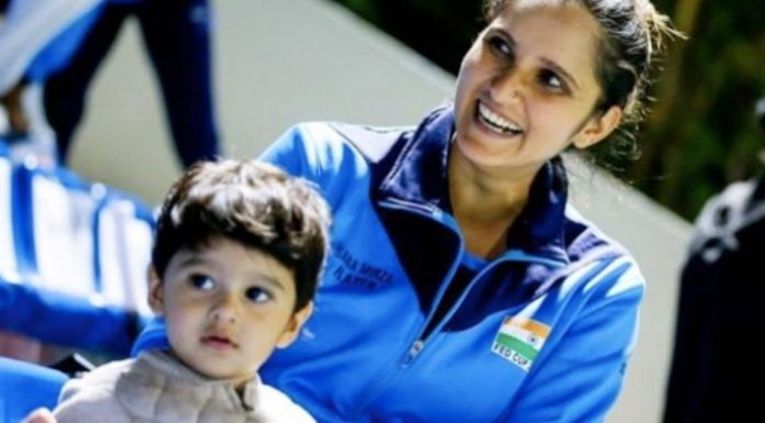Sania Mirza wrote a letter on motherhood after being inspired by the legendary Serena Williams.
