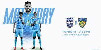 Mumbai City FC face Chennaiyin FC in the ISL