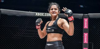 Ritu Phogat (Source: One Championship)