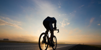 Cycling is one of the best ways to train cardio and become fitter. (Source: Cyclist)