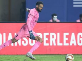 Amrinder Singh has been one of the top goalkeepers in the ISL