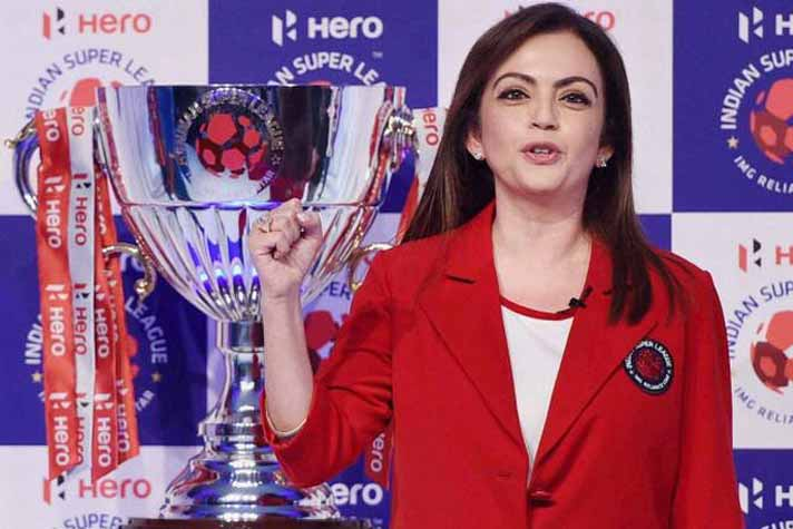 Nita Ambani is one of the biggest backers of ISL