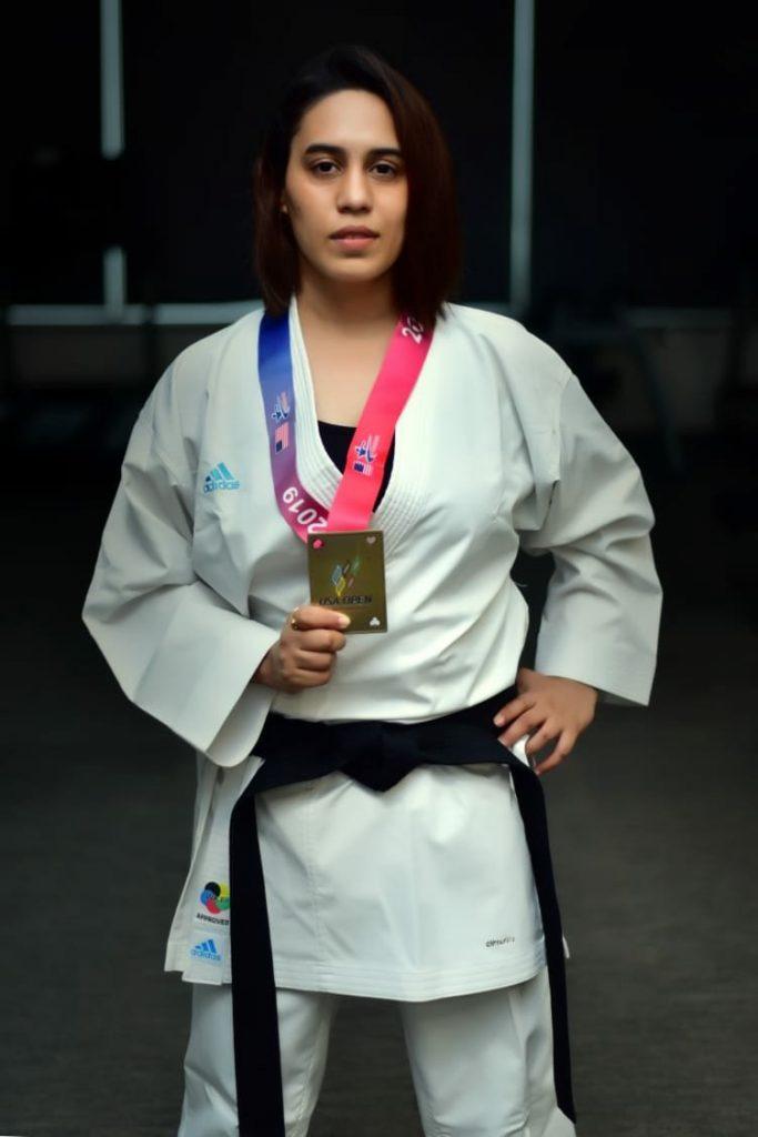 Supriya Jatav in Karate champion (Source- Supriya Jatav:Twitter)