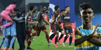 ISL: Top 4 teams