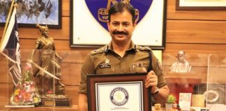 Krishna Prakash has become the first Indian Civil Servant, Government Employee and a Uniformed Indian Officer to finish an Iron Man Triathlon